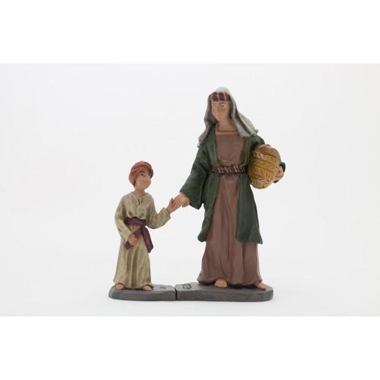 Pastora con niño nº4