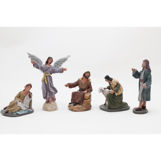 Anunciación a los pastores 9 cm.
