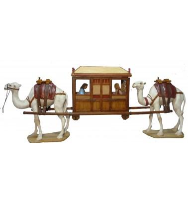 Caravanera con figuras ( sin camellos )