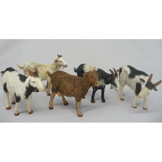 Cabras surtidas para 14 cm.  ( 5 modelos )