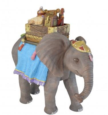 Elefante bebé con regalos