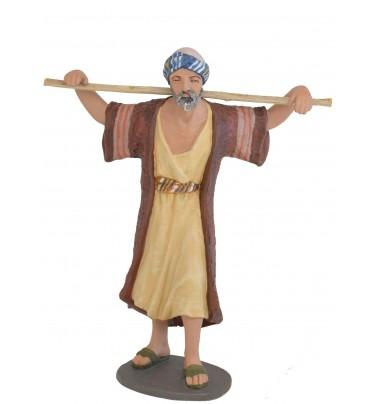 Pastor con vara sobre hombros Nº 15