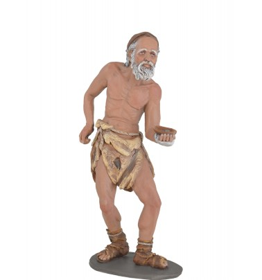 Mendigo - Fabricado en pasta cerámica Italiana