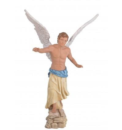Ángel Anunciación - Fabricado en pasta cerámica Italiana