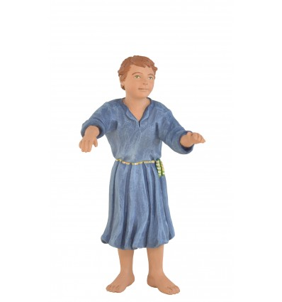 Niño sin peana para balcón - Fabricado en pasta cerámica Italiana.